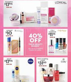 40% off selected beauty brands #onsale at Target until 20/4/16 #apr16 #beautysale #makeupsale #targetaustralia #discounted #loreal #rimmel #sallyhansen #nivea #olay @targetaus #savvysaver
