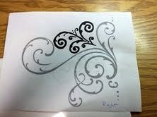 scrollwork tutorial...great for cake decorating