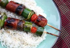 Mommy's Kitchen - Old Fashioned & Country Style Cooking: Super Easy Smoked Sausage Kabobs