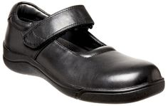 Clarks Indulge Black Leather Classic Mary-Jane Girls School Shoes