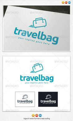 Travel Bag - Logo Design Template Vector #logotype Download it here: http://graphicriver.net/item/travel-bag-logo/4283585?s_rank=992?ref=nexion