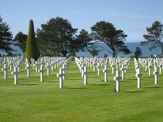 Normandy Beach & Cemetery: Normandy, France