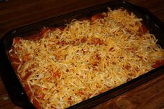 Ordinary Mommy and Wife: Famous Chicken Enchiladas