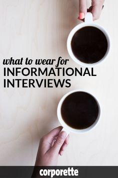 "Wondering what to wear for informational interviews? A young woman lawyer wrote in, wondering what to wear for a ""conversation"" with a woman who runs a foundation where shed ""love to work"" -- is it an informal interview? an informational interview? Just general mentoring? We offered our best advice for what to wear to these types of informal, undefined networking talks (and what to wear for informational interviews in general) -- and we love the tips our readers gave!"