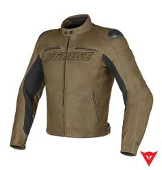 Dainese Leather Jacket Speed Naked Pelle - front