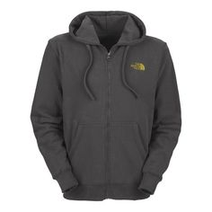 81da52ff50 Men s The North Face Logo Full Zip Hoodie Graphite Grey Leopard Yellow Size  Small The