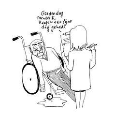 Illustratie over de zorg