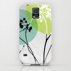 Abstract Flowers 2 iPhone & iPod Case