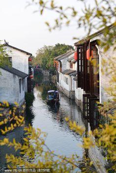 Zhouzhuang- Zhouzhuang, a famous water town in Southern China, is located in Kunshan city, Jiangsu province.