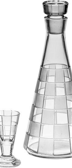 Nápojový set – 2 ks Bohemia, design V …. Bohemia Design, Carafe, Arches, Czech Glass, Ceramics, Ceramica, Pottery, Arch, Ceramic Art