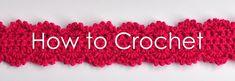 How to Crochet series @ Aesthetic Nest