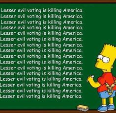 Friends don't let friends vote for evil. Vote for Jill Stein instead! Political Quotes, Political Satire, Libertarian Party, Together We Stand, Jill Stein, What Is Today, Smash The Patriarchy, Green Party, Meaningful Words