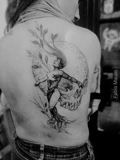 Tatouage réalisé par Fabio Mauro