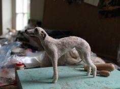 Custom Needle Felted Dog - Made to order. £60.00, via Etsy.