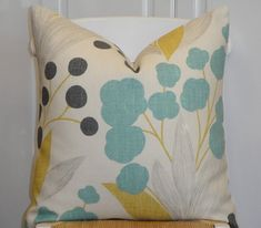 KRAVET  Decorative Pillow Cover  Accent by TurquoiseTumbleweed, $35.00