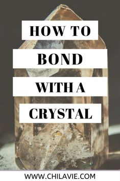 When you have chosen the crystals of your choice. There are two ways that you are going to interact with crystals:  Holding them in your hands Laying them in your body (for skin touch) #CrystalHealing #Crystals #crystalsmeditation #CrystalMeditation #crystals101 #crystalsenergy #chilavie