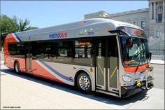 WMATA Metrobus (New Flyer Bus).