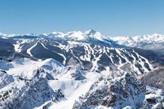 Vail Ski Resort is one of the best resorts in the United States and is the second largest in North America, located in Vail, Colorado.  Check out all the runs on the mountain!
