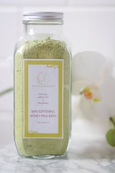 Matcha Green Tea & Spearmint Honey Milk by InfusionSkinTherapy, $20.00