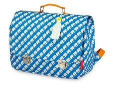873231c221 Engel Schoolbag - Elephant Blue Made in Netherlands By recycled bottles Cow  Makes moo Ολλανδία