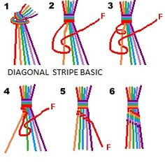 FRIENDSHIP BRACELETS PATTERNS FREE | - | Just another WordPress site