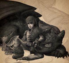 Dragon Trainer - Hiccup Horrendous Haddock III by xxMeMoRiEzxx.deviantart.com on @deviantART