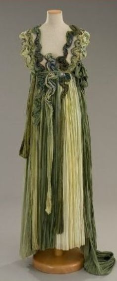 Dress made for Michelle Pfeiffer as 'Titania, Queen of the Fairies' - 1999 - William Shakespeare's 'A Midsummer Night's Dream' - Costume Design by Gabriella Pescucci - @~ Mlle