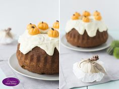 Marlene's sweet things: Pumpkin Spice Bundt Cake with Cream Cheese Frosting