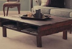 diy-rustic-looking-pallet-coffee-table-design-tutorial-ideas-wooden-pallets-project-plans-and-tips