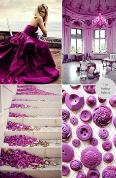 Pantone Color of the Year 2014 | Radiant Orchid 18-3224 http://www.theperfectpalette.com/2013/12/pantone-color-of-year-2014-radiant.html#disqus_thread