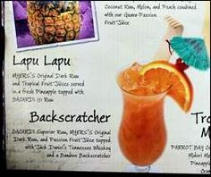 Polynesian Backscratcher Recipe - Tambu Lounge - 'Ohana