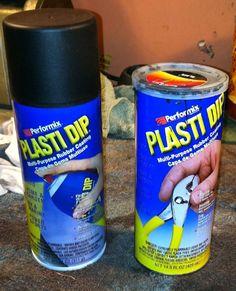 Plasti dip, for coating DIY bike panniers