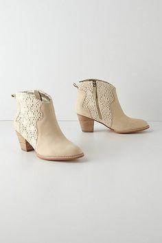 Cadee Booties #anthropologie