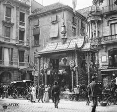 Carrer de la boqueria 1902. PLA DE LA BOQUERIA, A LA BARCELONA D' ABANS, D' AVUI I DE SEMPRE...