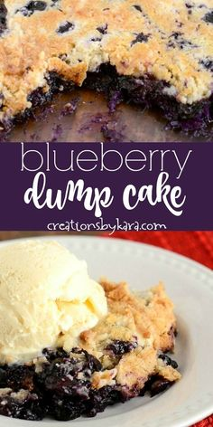 Business Cookware Ought To Be Sturdy And Sensible Blueberry Dump Cake With Pineapple - Pineapple And Fresh Blueberries Make This The Best Blueberry Dump Cake Blueberry Dump Cakes, Blueberry Desserts, Blueberry Cobbler, Blueberry Turnovers, Blueberry Crunch, Blueberry Bread, Summer Desserts, Easy Desserts, Delicious Desserts