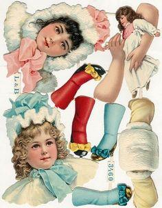 Scrap Victorian Girls — (465x600)