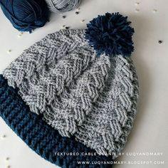 done! a lovely hat for @ananda_kharisma_auliya ❤ glad i did it! #freecrochetpattern #crochetlover #crocheting #cablestitch #beanie