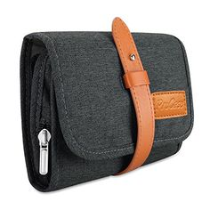 ProCase Travel Gadgets Organizer Bag, Universal Electronic Accessories Cable Roll-Up Pouch Portable Gear Storage Carrying Cover for Cords SD Memory Cards Earphone Hard Drive Black Christmas Ornament Storage, Tree Bag, Electronic Gifts For Men, Delivery Bag, Travel Gadgets, Electronics Gadgets, Bag Organization, Other Accessories, Bag Storage