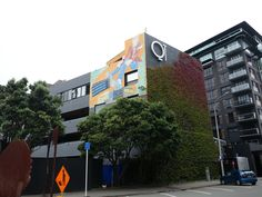 QT Museum Hotel in Wellington, New Zealand is housed in an art museum and has an amazing restaurant, Hippopotamus.