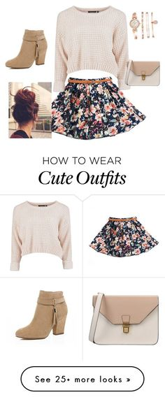 """Cute Fall sweater outfit"" by kkohut12 on Polyvore featuring 8, River Island and Anne Klein"