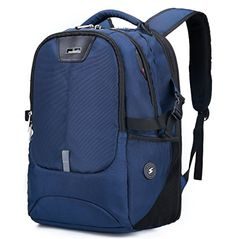 Silmarils 17 Inch TSA Friendly ScanSmart Laptop Backpack Waterproof BlackBlue -- You can get more details by clicking on the image-affiliate link.