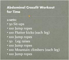Cross Fit abdominal