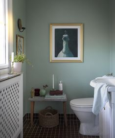 Feel plus paint......A Swedish Family Home Filled with Art and Old-Time Charm | Design*Sponge