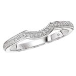 The a universally accepted standard to diamond grading. Learn about the cut, color, clarity, carat weight. Curved Wedding Band, Wedding Bands, Diamond Bands, Unique Rings, Diamond Engagement Rings, Silver Rings, Jewelry, Jewellery Making, Jewerly