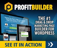 WP Profit Builder - The #1 Drag And Drop Marketing Page Builder For Wordpress - ProfitBuilder - http://www.marketingsharks.com/2017/03/28/wp-profit-builder/ WP Profit Builder  #WP Profit Builder – The #1 #Drag And Drop #Marketing Page Builder For WordPress – #ProfitBuilder WP #Profit Builder – The 1 Drag And Drop #Marketing #Page Builder For WordPress – ProfitBuilder – The Ultimate Drag and Drop Marketing Page Builder is Back & Better Than
