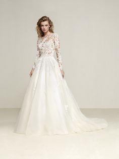 Vestido de novia de cuento - Drizana