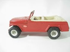 Vintage Tonka Jeepster (red) - $35 Cabootle