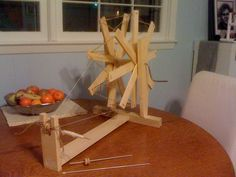 Spinning Wheel Project: The just under $20 Historical style Spinning Wheel « Adventures in Wool Addiction