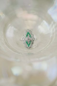 Art deco: http://www.stylemepretty.com/2015/02/20/inspired-by-lady-gagas-heart-shaped-engagement-ring/