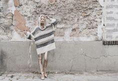 Collection Automne Hiver 2015/2016 ● Pull en mohair et lurex tricoté main #mesdemoiselles #knit #sweater